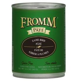 Fromm Fromm Gold Game Bird Pate Dog Food 12.2 oz