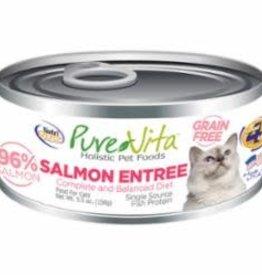 Nutrisource Nutri Source Pure Vita 96% Grain Free Salmon Entrée Cat 5 oz
