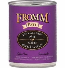 Fromm Fromm Gold Duck À La Veg Pate Canned Dog 12.2 oz