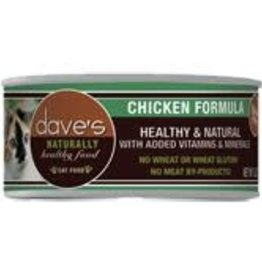Daves Pet Food Dave's  Naturally Healthy Grain-Free Chicken Formula Canned Cat 5.5 oz