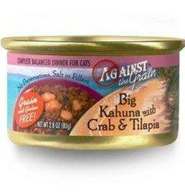 Against The Grain Against The Grain Big Kahuna Crab & Tilapia Grain-Free Cat 2.8 oz