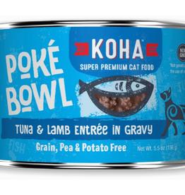 Koha Koha Cat Poke Bowl Tuna Lamb 5.5oz