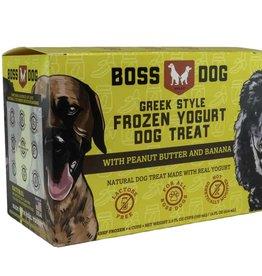 Boss Dog Boss Dog Peanut Butter & Banana Frozen Yogurt Dog Treats  3.5 oz 4-pack