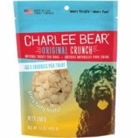 Charlee Bear Charlee Bear Liver Flavor Dog Treats 16 oz