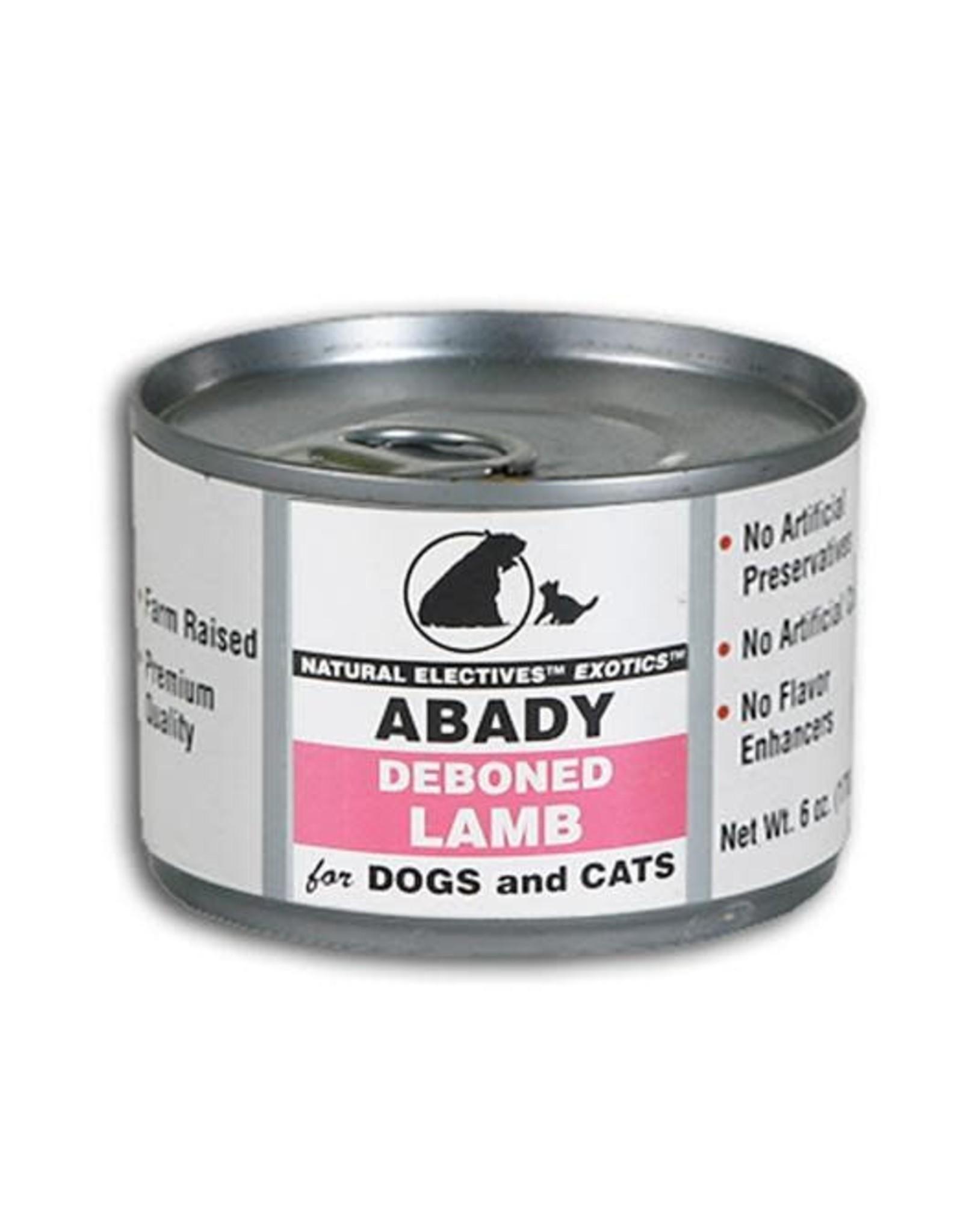 Abady Abady Exotics Lamb 6 oz