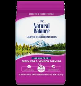 Natural Balance Natural Balance LID Green Pea & Venison Dry Cat 4.5 lb