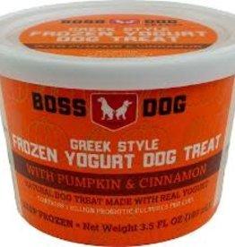 Boss Dog Boss Dog Greek Style Frozen Yogurt Pumpkin & Cinnamon 4 Pack