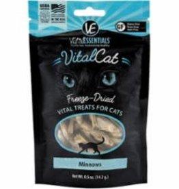 Vital Essentials Vital Essentials Freeze-Dried Vital Cat Treats Minnows
