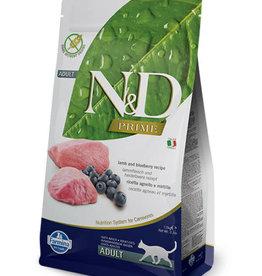 Farmina Farmina Cat Dry N&D Grain Free Lamb & Blueberry 3.3 lb