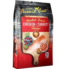 Fussie Cat Fussie Cat Market Fresh Grain Free Chicken & Turkey Recipe Dry Cat Food 2  lb