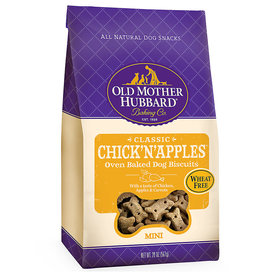 Old Mother Hubbard Old Mother Hubbard Crunchy Classic Mini Chick'N'Apples 20 oz