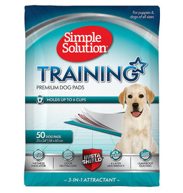 Bramton Company Bramton Simple Solution Training Pads 50 Pack Original 23X24