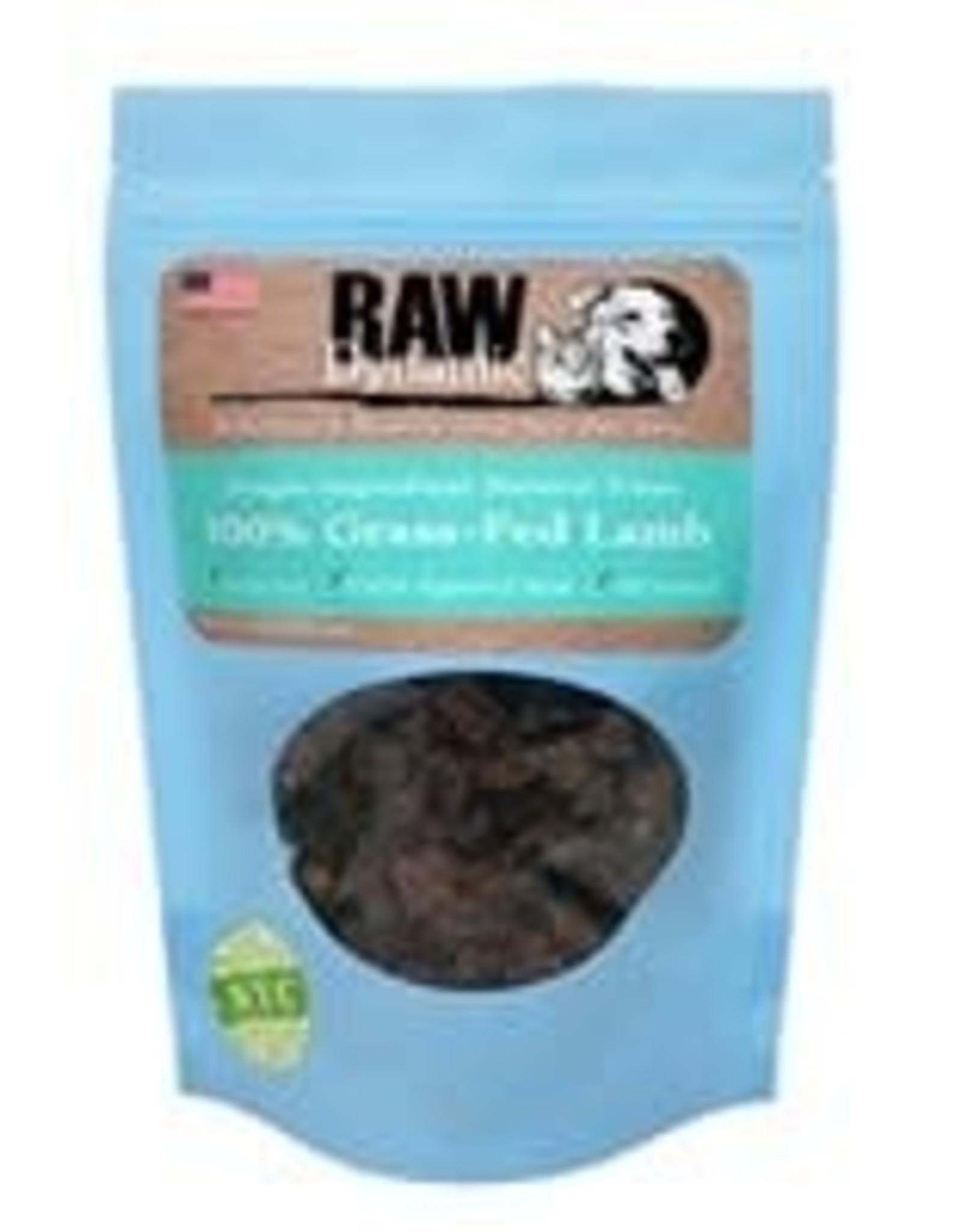 Raw Dynamic Raw Dynamic  Grass-Fed Lamb Treat