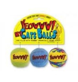 Yeowww Yeowww Catnip My Cat Balls 3 Pack