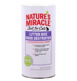 Nature's Miracle Nature's Miracle Just for Cats Litter Box Odor Destroyer Powder 20 oz