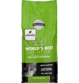 Worlds Best Cat Litter World's Best Unscented Clumping Corn Cat Litter 8Lb