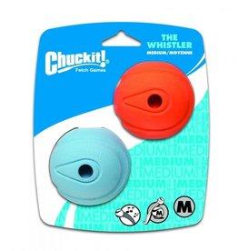 Chuckit! Canine Hardware Whistle Ball Medium 2 Count