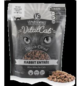 Vital Essentials Vital Essentials Rabbit Mini Nibs Entree Freeze-Dried Cat Food 12 oz