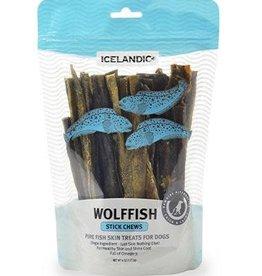 Icelandic Icelandic+ Fish Treat Wolffish Skin Stick Chews 4.0 oz