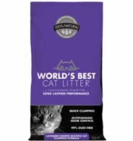 Worlds Best Cat Litter World's Best Cat Litter Multi Lavender 8 lb
