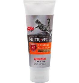 Nutri-Vet Nutri-Vet Cat Hairball Paw Gel 3 oz Chicken Flavor