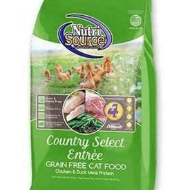Nutrisource NutriSource Cat Dry Grain Free Country Select Chicken & Duck 2.2 lb