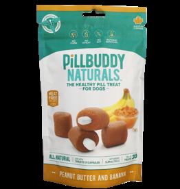 Presidio Presidio Dog Treat Pill Buddy Naturals Peanut Butter & Banana 5.3 oz