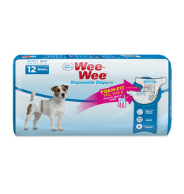 Four Paws Four Paws Disposable Dog Diaper Small 12 ct