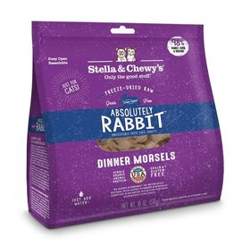 Stella & Chewy's Stella & Chewy's Freeze Dried Rabbit Morsels Cat 18 oz