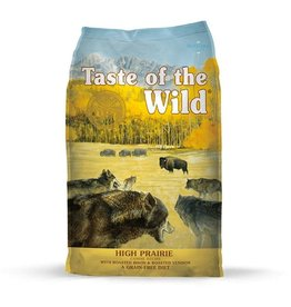 Taste Of The Wild Taste of the Wild High Prairie Canine with Roasted Bison & Venison 28 lb
