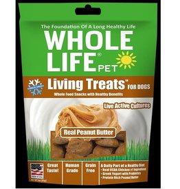 Whole Life Whole Life Living Treats Peanut Butter Flavor Freeze-Dried Dog Treat 3 oz