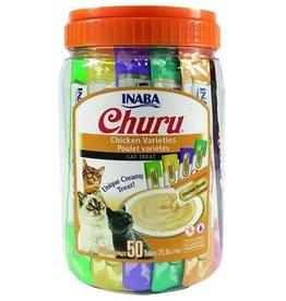 Inaba Inaba Churu 50 Tubes Chicken Variety