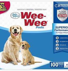 """Four Paws Four Paws Four Paws Wee Wee Pads 100 Count Bag 22"""" x 23"""""""