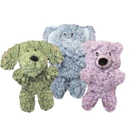 Multipet Multipet Aromadog Calming Bear Shaped Fleece Plush Assorted Dog Toy, X-Small