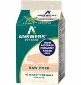 Answers Answers Cat Frozen Detailed Pork 1lb
