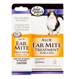 Four Paws Four Paws Ear Mite Remedy For Cats 0.75 oz