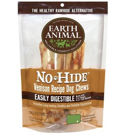 Earth Animal Earth Animal No-Hide Venison Recipe Dog Chews 2 Pack