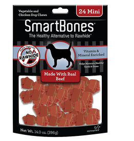 Smart Bones SmartBones Mini Beef Chew Bones Dog Treats 24 count
