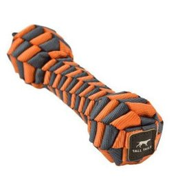 Tall Tails Tall Tails Dog Toy Braided Bone Orange & Charcoal