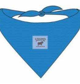 Canada Pooch Canada Pooch Chill Seeker Bandana Blue Large