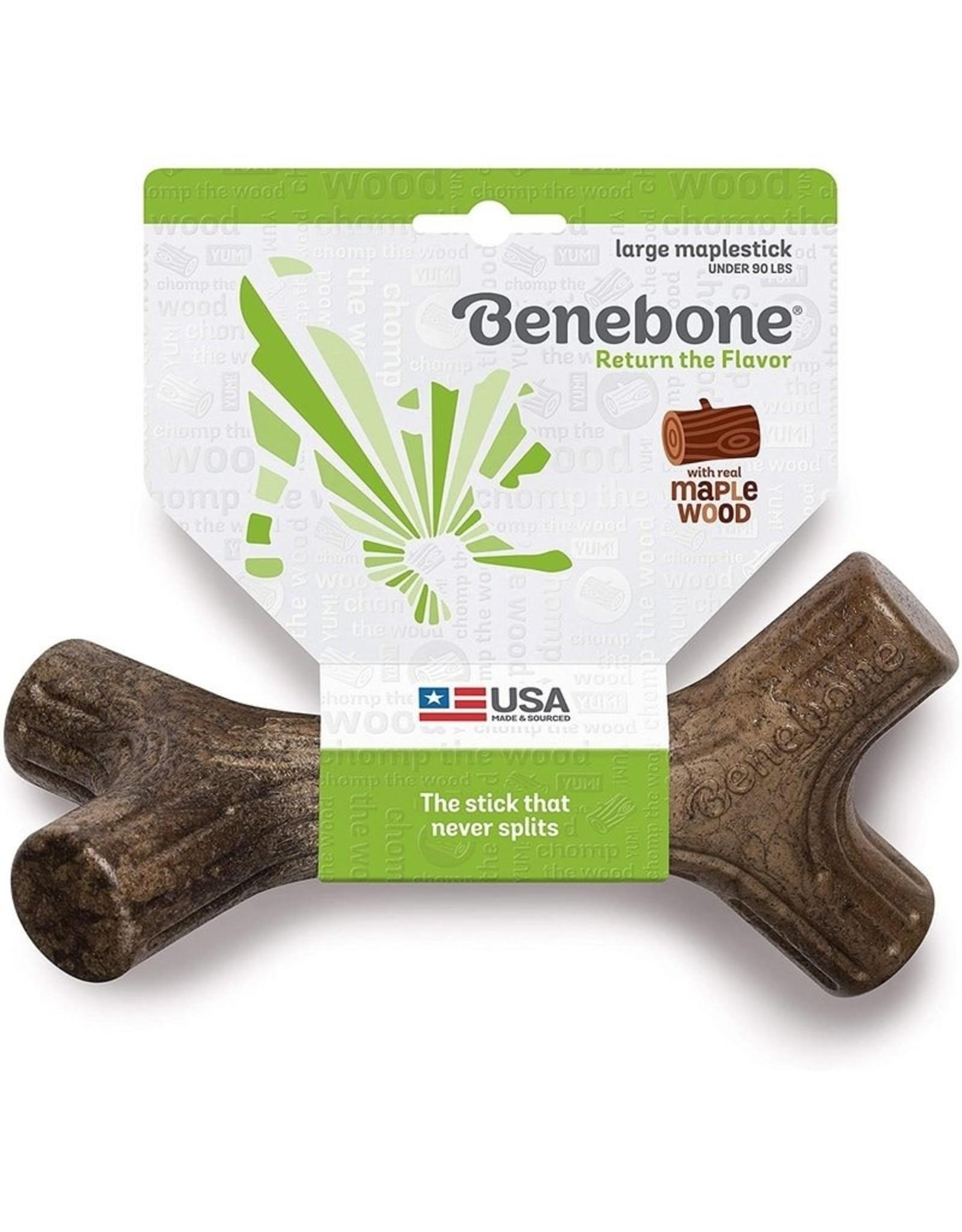 Benebone Bene Bone Dog Maple Stick Large