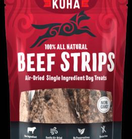 Koha Koha Beef Strips Air Dried Dog Treats 3.25 oz