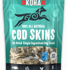 Koha Koha Cod Skins Air-Dried Dog Treats 2.5 oz