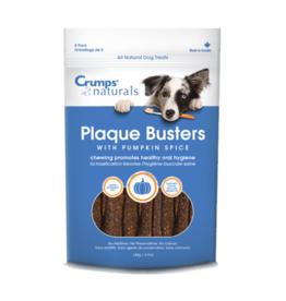 "Crump Naturals Crumps Naturals Plaque Busters with Pumpkin Spice 7"" 8 Pack"