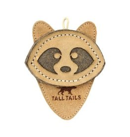 Tall Tails Tall Tails Dog  Scrappy Critter Leather Racoon 4 Inches