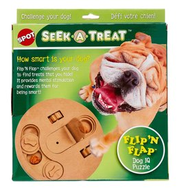 Ethical Ethical Dog Toy Puzzle Sneek a Treat Flip N Flap