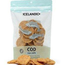 Icelandic ICELANDIC Dog Cod Fish Chips 2.5 oz
