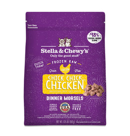 Stella & Chewy's Stella & Chewy's Chick, Chick, Chicken Dinner Morsels 1.25lb Raw Frozen Cat Food