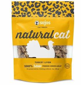 Sojo's Sojos Natural Cat Turkey Liver Freeze-Dried Cat Treats 1 oz