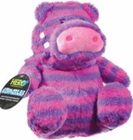 Hero Hero Chuckles Purple Hippo Dog Toy Large
